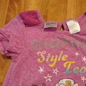 Shopkins Shirts & Tops - Girls Shopkins tee